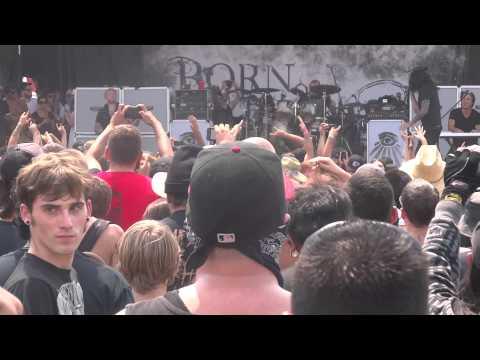 Born Of Osiris - Follow The Signs Live @ Mayhem Festival 2013 San Manuel Amphitheater