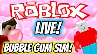 BRICK RIGS BOB JOINS ROBLOX LIVE STREAM 🔴 NUOVO BUBBLE GUM SIMULATOR UPDATE Famiglia Friendly Roblox