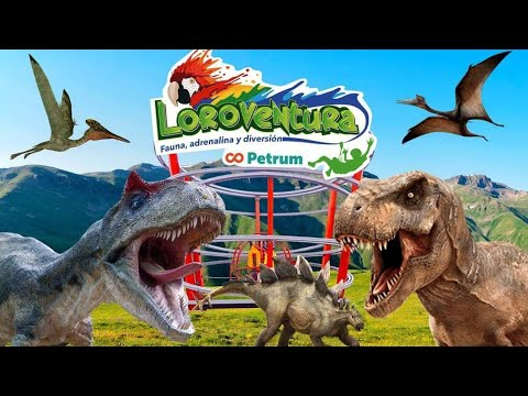 Paseo con Dinosaurios Loroventuras