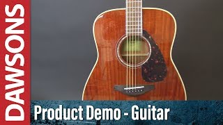 Yamaha FG850 Acoustic Guitar Review