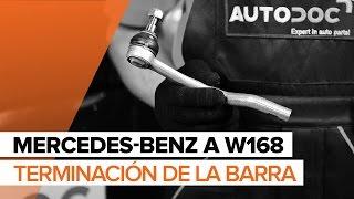 Montaje Rótula barra de dirección MERCEDES-BENZ A-CLASS: vídeo manual