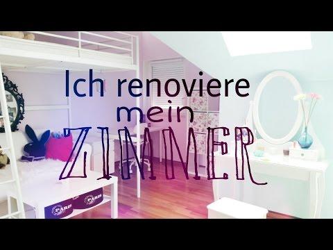 Ich renoviere mein Zimmer