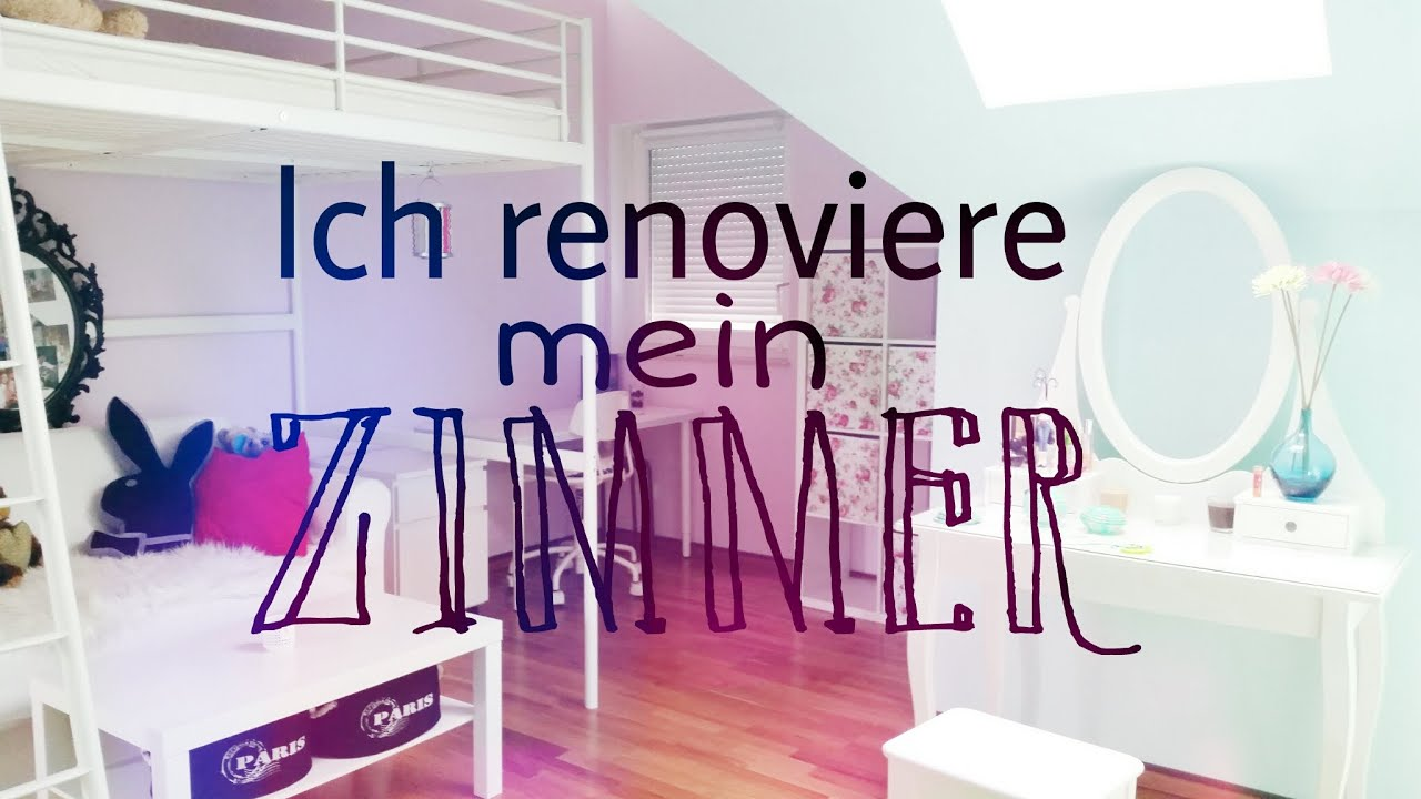 ich renoviere mein zimmer youtube. Black Bedroom Furniture Sets. Home Design Ideas