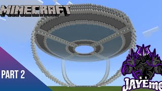 Minecraft: How To Build Mumbo Jumbo Hermitcraft 6 Base (Part 2) - DEATHSTAR Is Born!