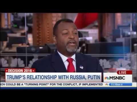 """Malcolm Nance """"Investigate Trump Campaign's Russian Ties"""""""