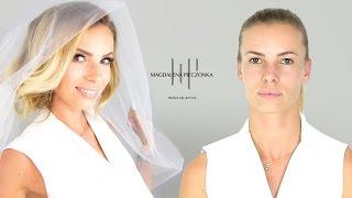 Makijaż ślubny z Izą Janachowską