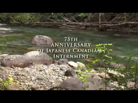 75th Aniversary of Japanese Canadian Internment. The Langham, Kaslo, BC, Canada