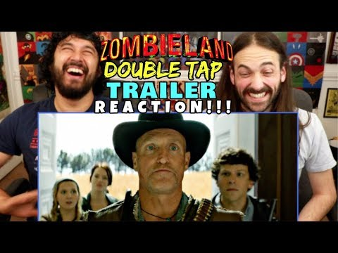 ZOMBIELAND 2: DOUBLE TAP | TRAILER - REACTION!!!