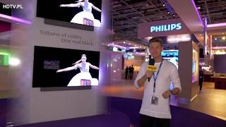 "IFA 2017: Premiera Philips OLED TV 65"" P5, Ambilight, Android TV 4K Ultra HD"