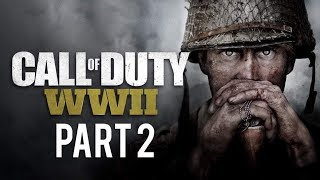 Call of Duty®  WWII GAMEPLAY PC Parte 2