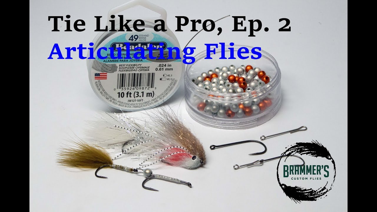 Tie like a pro ep 2 articulating flies youtube tie like a pro ep 2 articulating flies ccuart Images