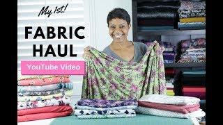 My 1st Fabric Haul Mp3
