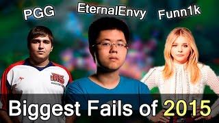 Biggest Fails of 2015 — Dota 2