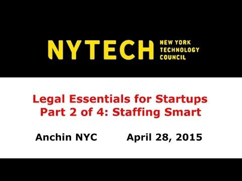 Legal Essentials Part 2: Staffing Smart