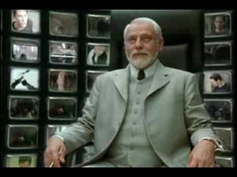 The matrix why am i here youtube for Matrix reloaded architect