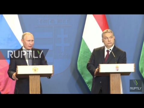 Hungary: Russia and EU working together would help energy safety in Europe - Putin