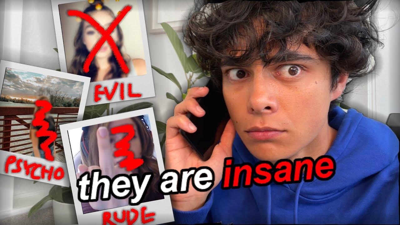 prank calling PSYCHO EXES