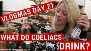 Gluten free booze: What alcohol can coeliacs drink? | VLOGMAS DAY 21