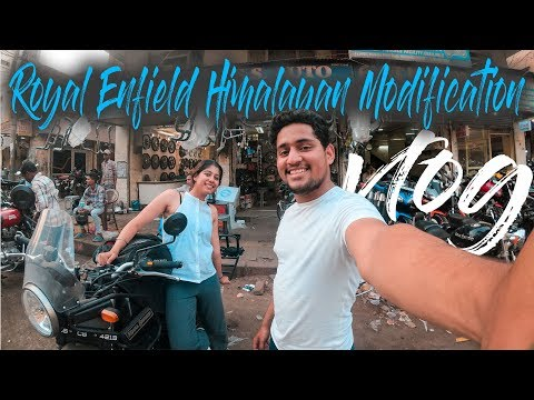 Royal Enfield Himalayan Modification Vlog | Ladakh Carrier | Karol Bagh | #WhereDoWeGoNow