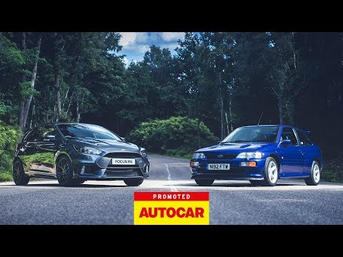 Promoted: Ford Focus RS vs Escort RS Cosworth