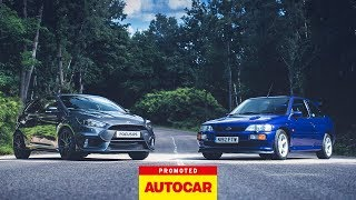 Promoted: Ford Focus RS vs Escort RS Cosworth thumbnail