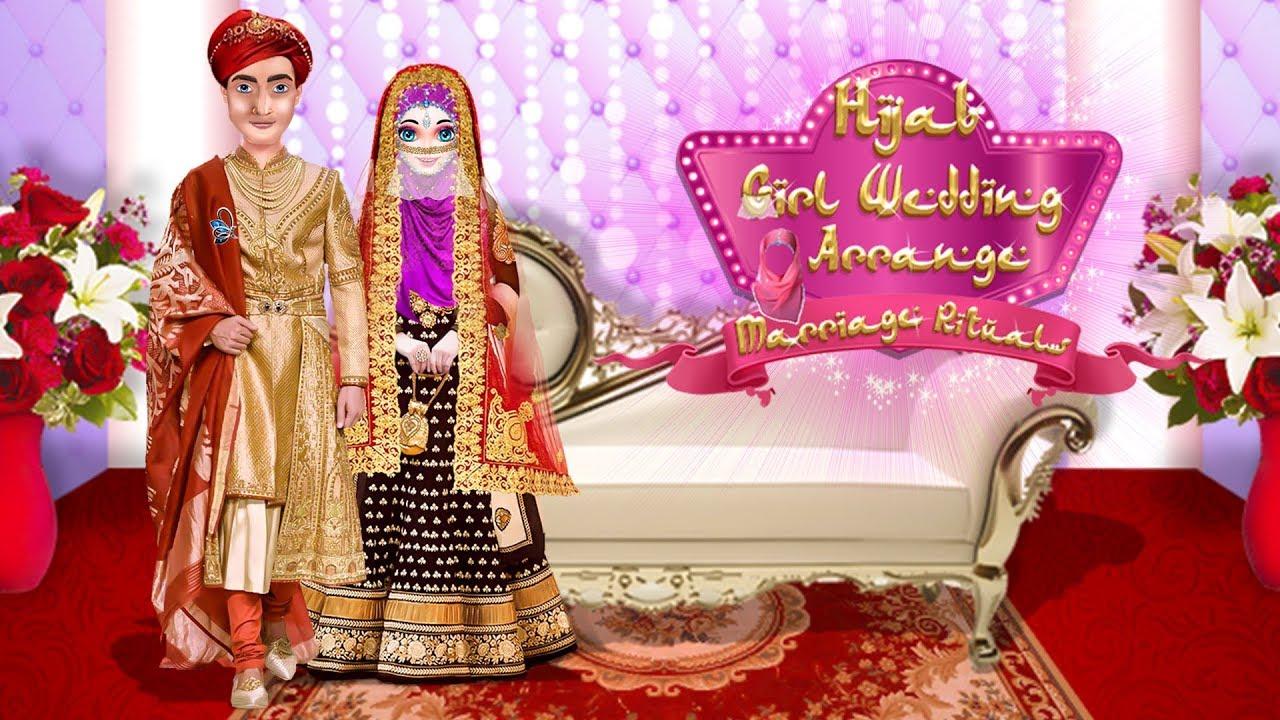 Hijab Girl Wedding Arrange Marriage Rituals Youtube