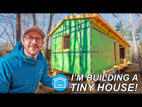 I'M BUILDING A (not so tiny) TINY HOUSE! // Part 1: Permits & Site Prep