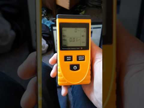 Electromagnetic Radiation Tester serious results