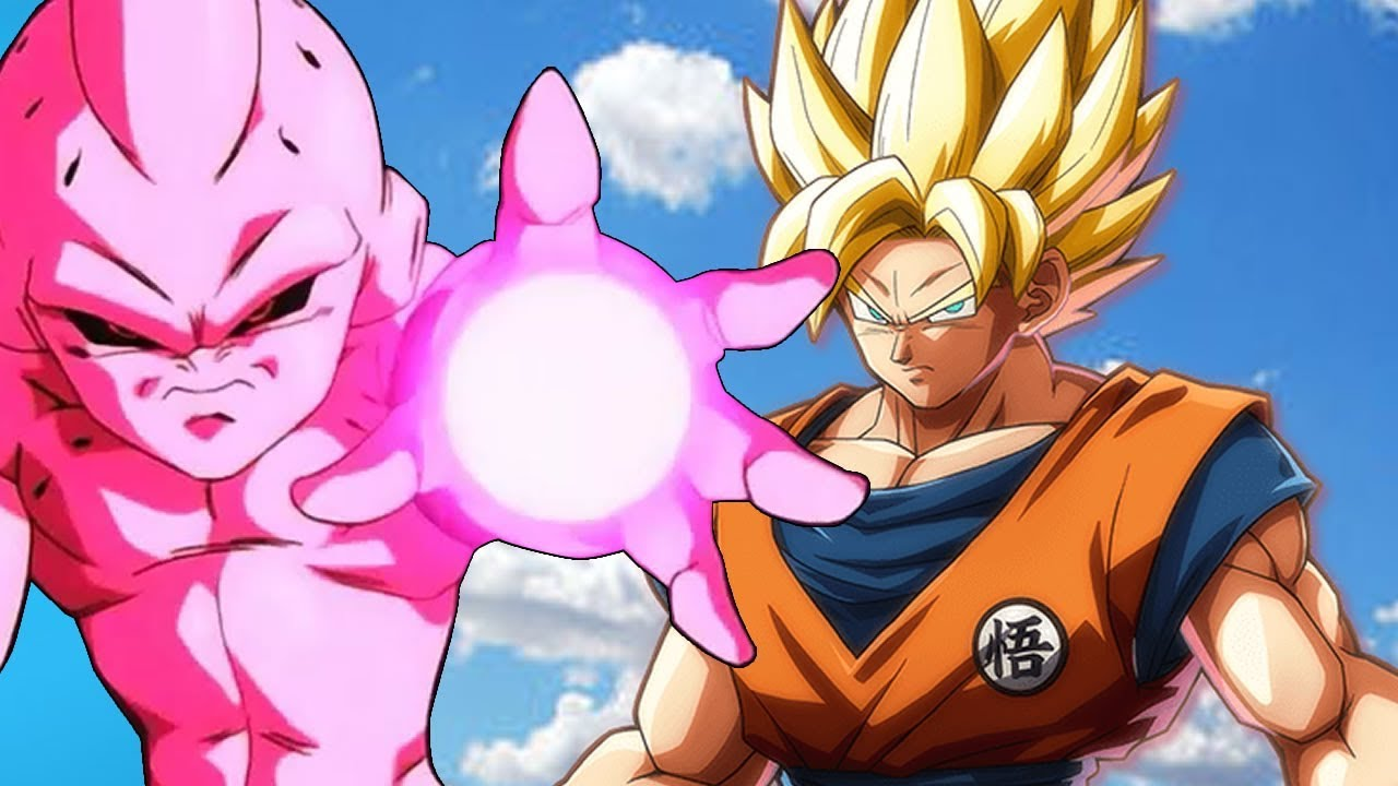 Dragon Ball Fighterz Majin Boo X Goku Youtube