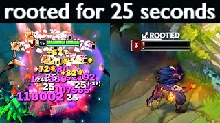 25 SECONDS SNARE! 1 SHOT EVERYTHING! Epic Leblanc Bug!