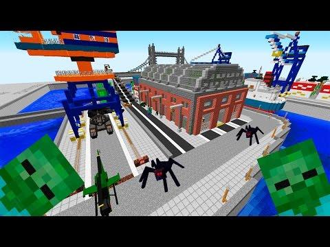 Бандиты и Военные! День 2. Зомби Апокалипсис в Майнкрафт