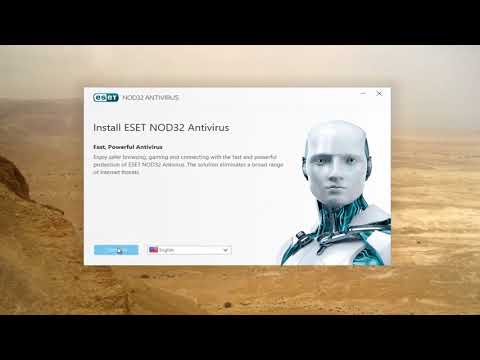 cara update anti virus ESET secara otomatis.