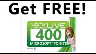 How to get FREE Microsoft Points!!! And other Rewards too!
