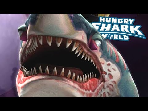ZOMBIE SHARK EATS SPOOPS!!! - Hungry Shark World | Ep 61 HD