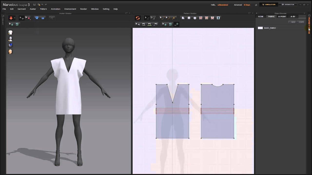 Designer Lines : Md3] lesson3. adding detail 'creating elastic lines' youtube