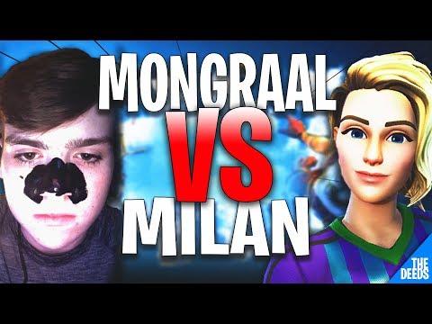 Secret Mongraal 1 VS 1 Secret Milan | Fortnite Creative 1v1 *BEST UK PLAYER*