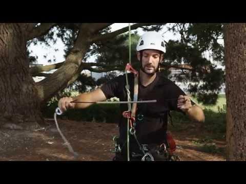 Treekit Srt Tutorials E07 Climbing Srt Using A Knee Ascender Youtube