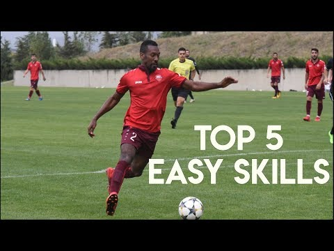 TOP 5 EASY SKILL MOVES FOR STRIKERS