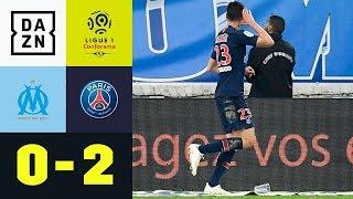 Julian Draxler leitet ein und macht den Deckel drauf: Marseille - PSG | Ligue 1 | DAZN Highlights