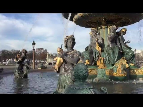Exploring Paris - Place de la Concorde, Rue Royale, Place Vendome, the Opera