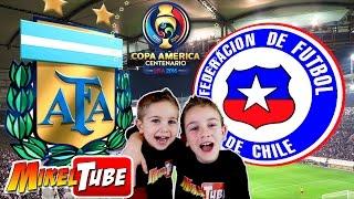 Predicción para el ARGENTINA - CHILE en la Final de la Copa América Centenario 2016