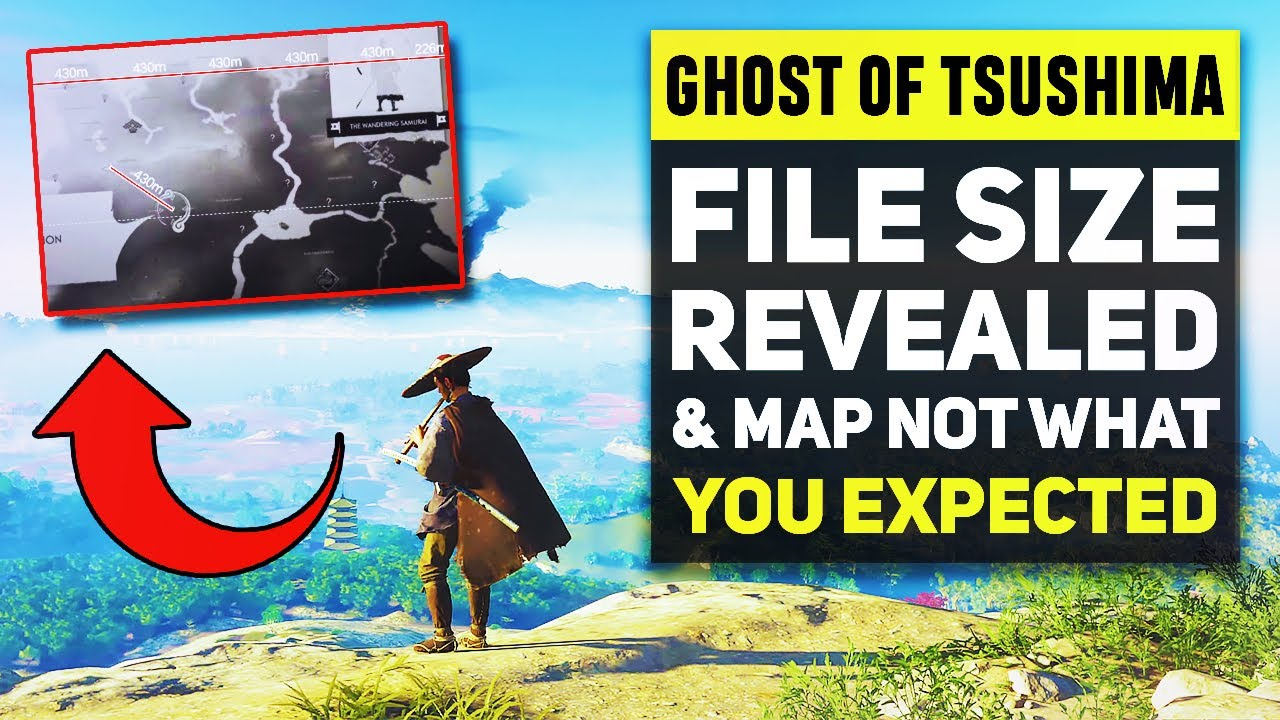 Ghost Of Tsushima File Size Revealed Map Could Be Larger Than