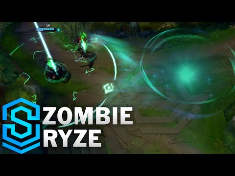 Zombie Ryze (2016) Skin Spotlight - League of Legends