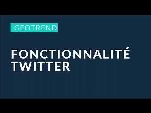 Fonctionnalité Twitter
