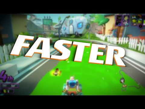 Nickelodeon Kart Racers 2: Grand Prix - Announce Trailer