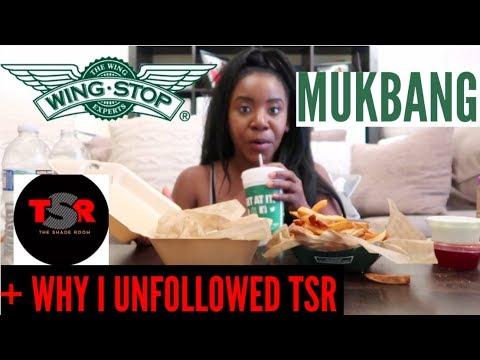 WINGSTOP MUKBANG! + why I UNFOLLOWED the shade room