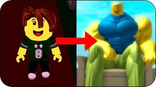 HOW TO BE MUSCULAR IN 3 SIMPLE STEPS BEBE VITA, MILO IN ROBLOX ROLEPLAY IOS OBBY