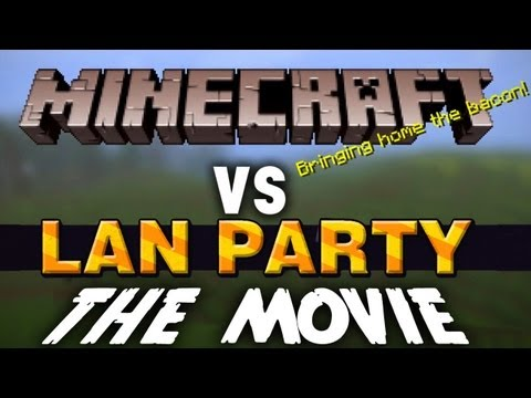 Minecraft: The Movie with Freddiew and Corridordigital on LAN Party - NODE