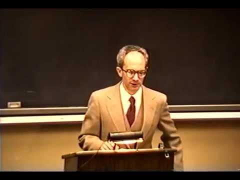 Nathan Tarcov: John Locke's philosophy, Kenyon College, 1990