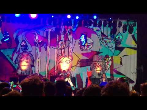 Animal Collective - Daily Routine/Floridada - live in Royal Oak 2016